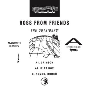 Ross From Friends/THE OUTSIDERS EP D12""