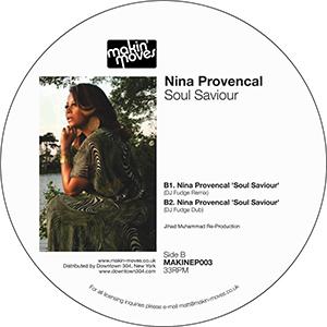 """Nina Provencal/SOUL SAVIOUR 12"""""""
