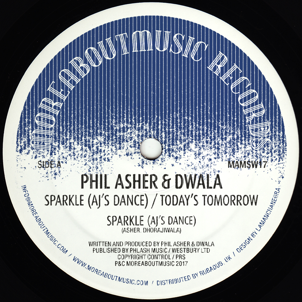 Phil Asher & Dwaala/SPARKLE 12""
