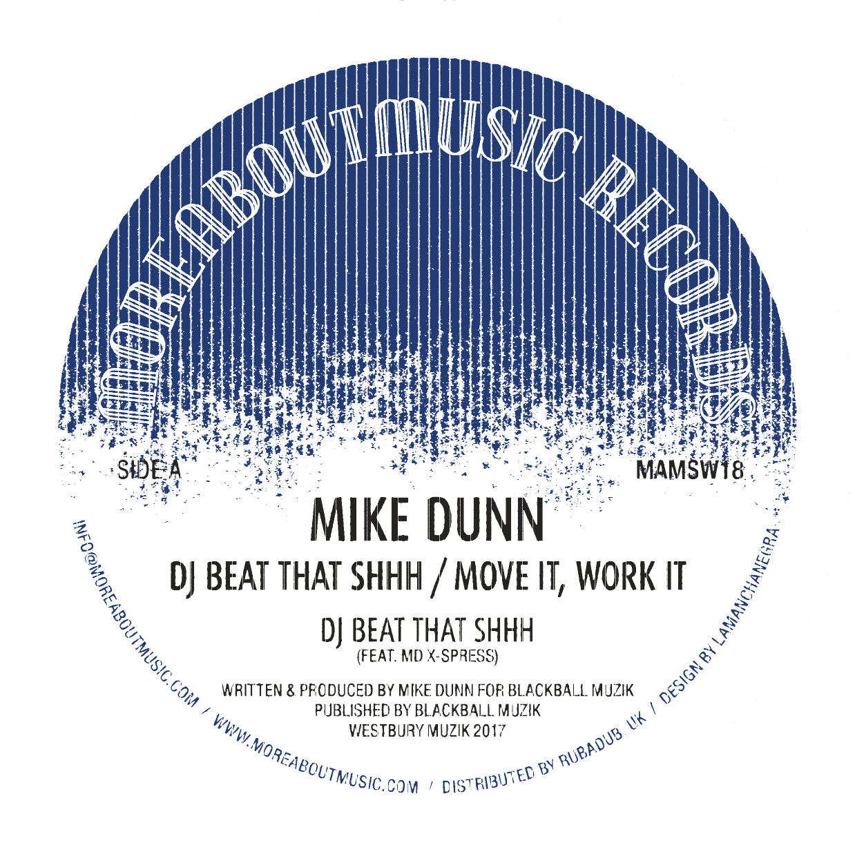 Mike Dunn/DJ BEAT THAT SHHH 12""