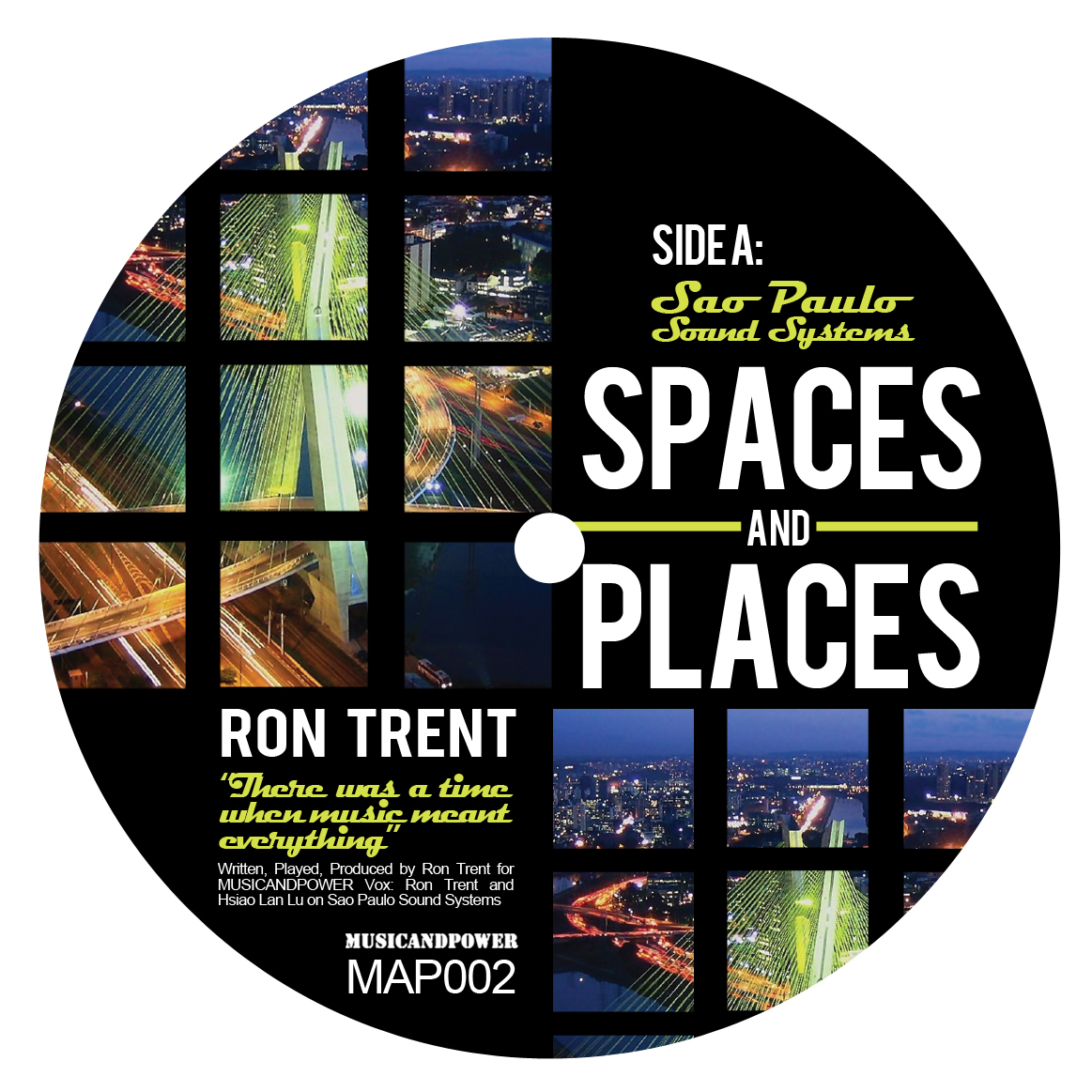 """Ron Trent/SPACES AND PLACES PT. 2 12"""""""