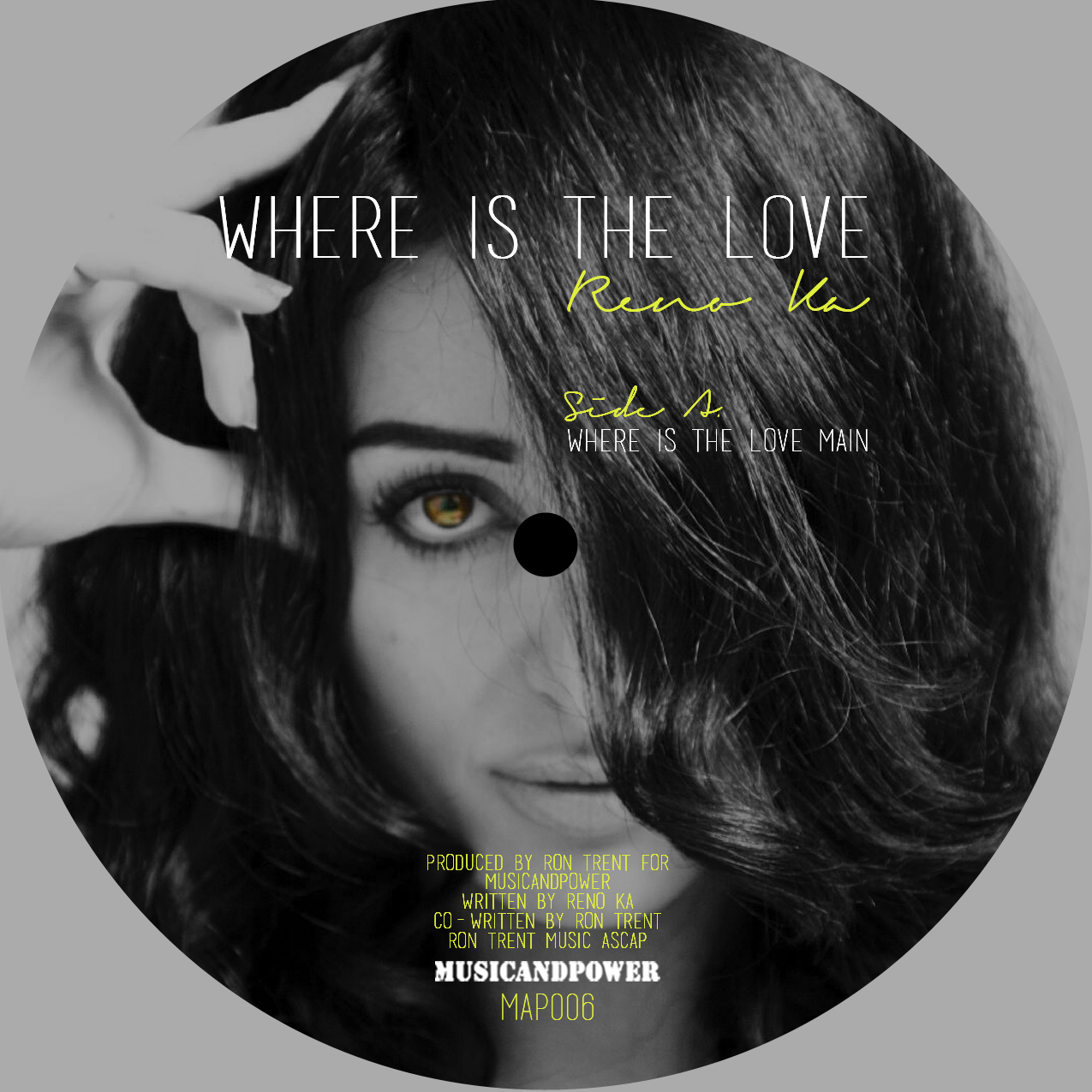 Reno Ka/WHERE IS THE LOVE 12""