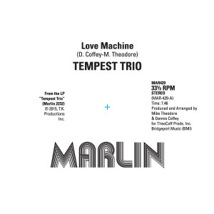 Tempest Trio/LOVE MACHINE 12""