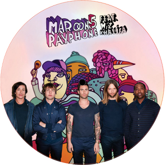 Maroon 5/PAYPHONE REMIXES 12""