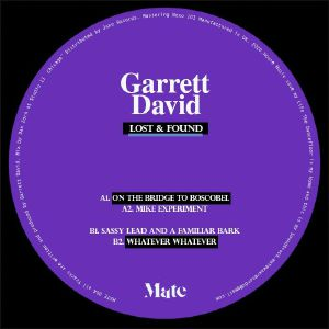 Garrett David/LOST & FOUND 12""