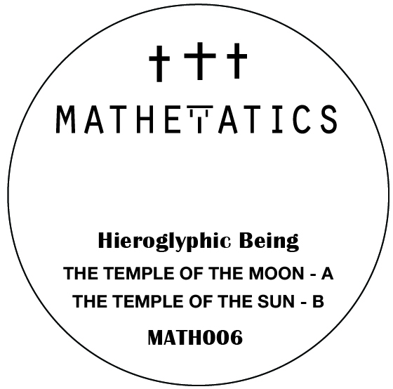 Hieroglyphic Being/TEMPLE OF THE MOON 7""