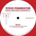 Steve Poindexter/MANIAC REMIXES EP 12""