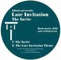 Late Invitation/THE INVITE EP 12""