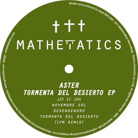 "Aster/TORMENTA DEL DESIERTO EP 12"""