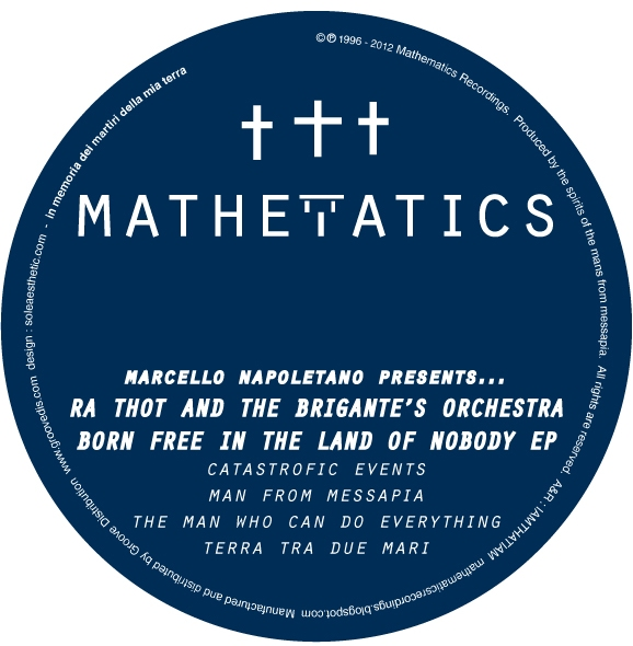 "Ra Thot & The Brigante's Orch/EP 12"""