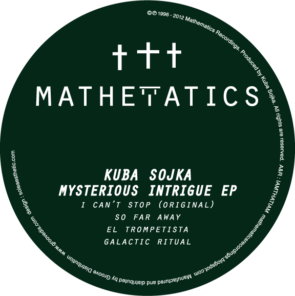 Kuba Sojka/MYSTERIOUS INTRIGUE EP 12""