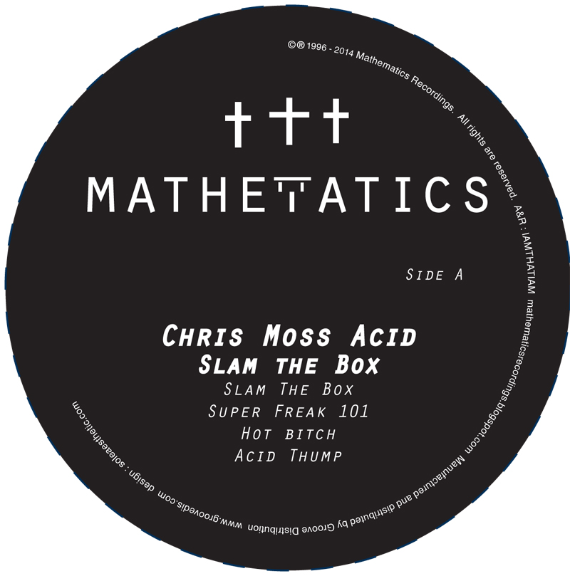 Chris Moss Acid/SLAM THE BOX 12""