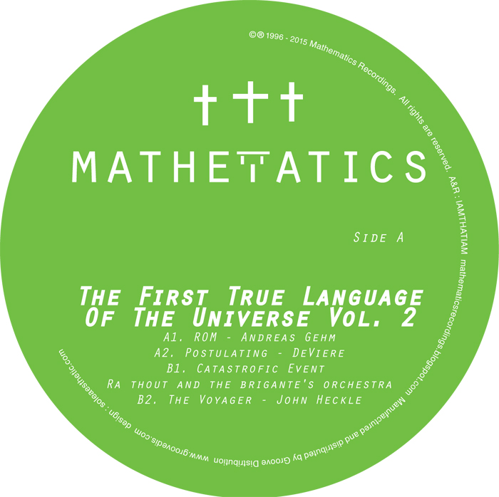 Various/THE FIRST TRUE LANGUAGE V2 12""