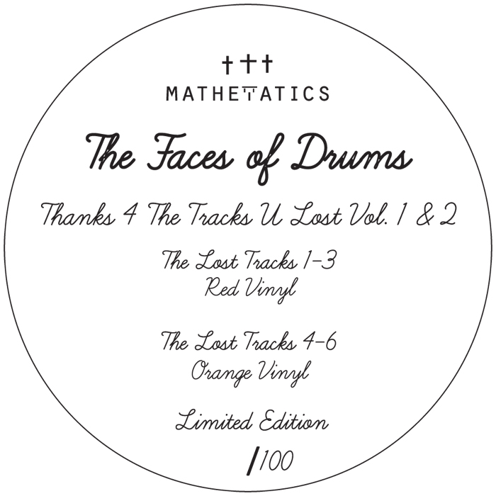 Face Of Drums/LTD EDITION COLOR D12""