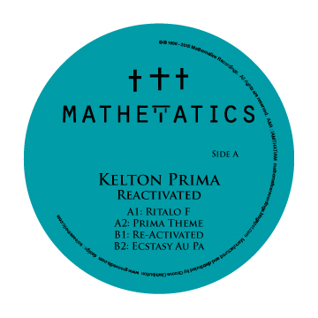 Kelton Prima/REACTIVATED EP 12""