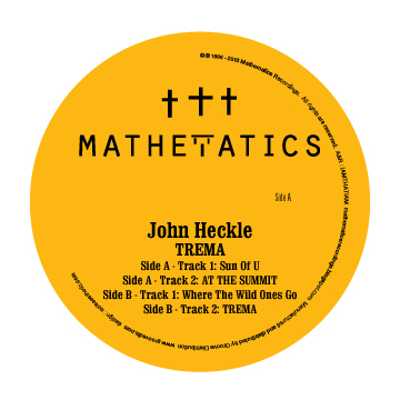 John Heckle/TREMA EP 12""