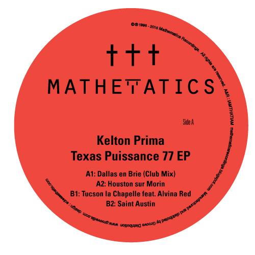 "Kelton Prima/TEXAS PUISSANCE 77 EP 12"""