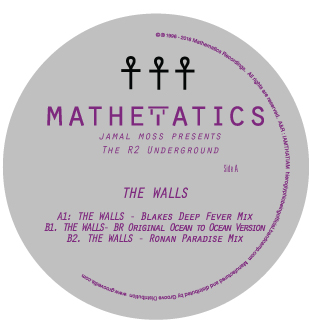 J Moss & R2 Underground/THE WALL 12""