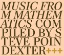Steve Poindexter/MUSIC FROM MATH... CD