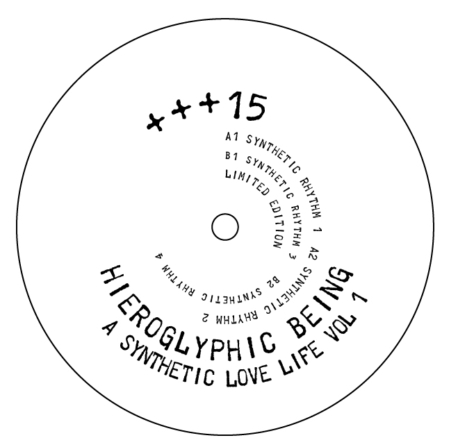 Hieroglyphic Being/SYNTHETIC LOVE 1..12""