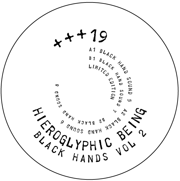 Hieroglyphic Being/BLACK HANDS VOL 2 12""