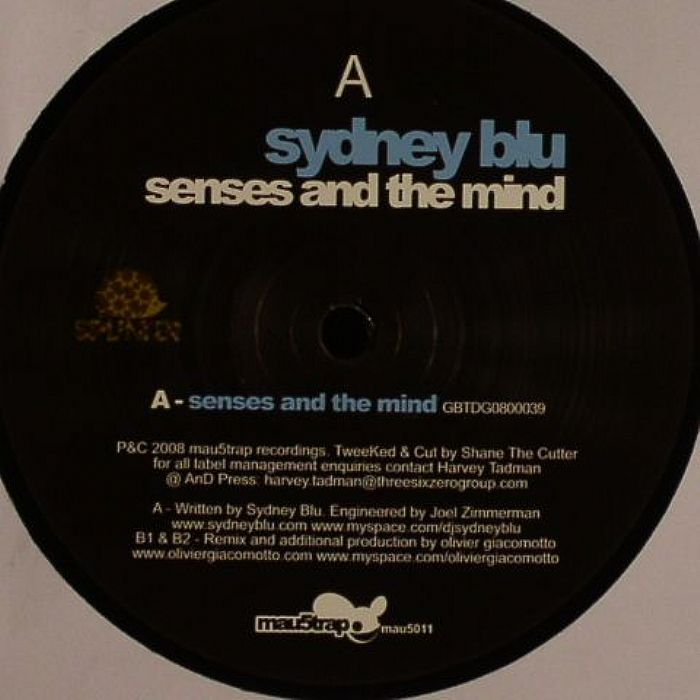 Sydney Bleu/SENSES AND THE MIND 12""
