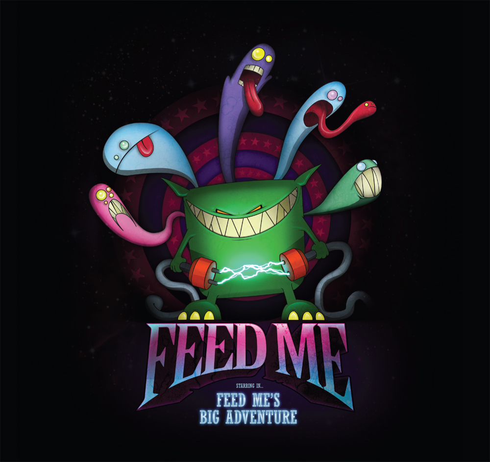 Feed Me/FEED ME'S BIG ADVENTURE CD