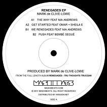"Mark de Clive Lowe/RENEGADES EP 12"""