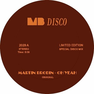 """Martin Brodin/OH YEAH GLIMMERS REMIX 12"""""""