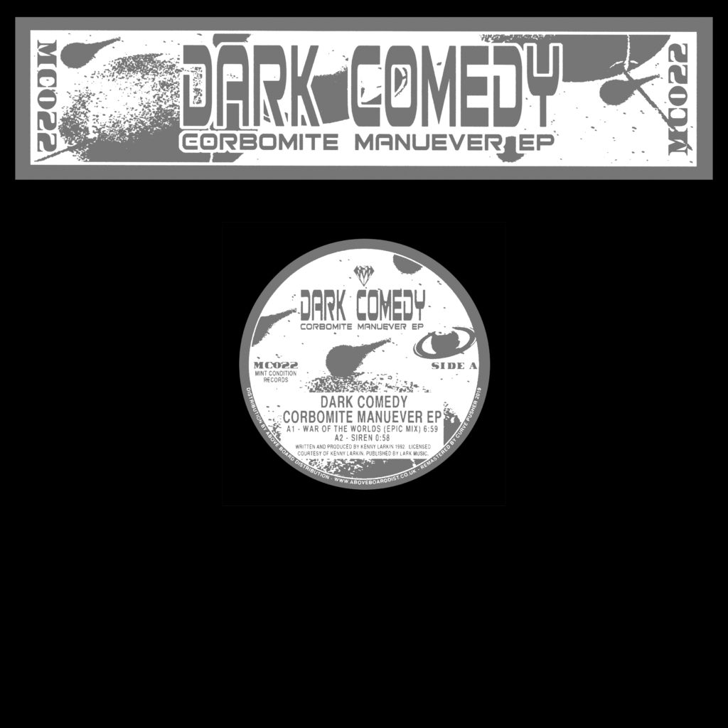 Dark Comedy/CORBOMITE MANEUVER (CV) D12""