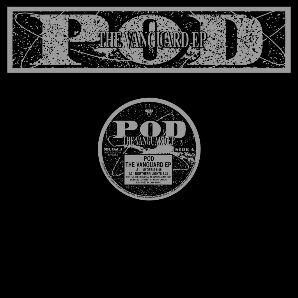 "POD/THE VANGUARD EP (CLEAR VINYL) D12"""