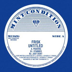 "Frisk/UNTITLED EP 12"""