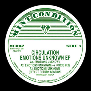 Circulation/EMOTIONS UNKNOWN EP 12""