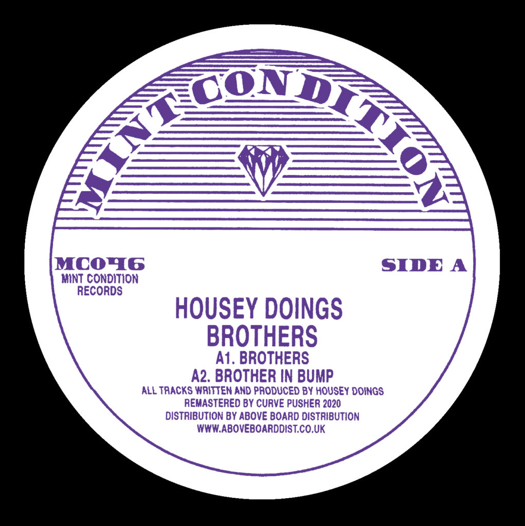 """Housey Doingz/BROTHERS 12"""""""