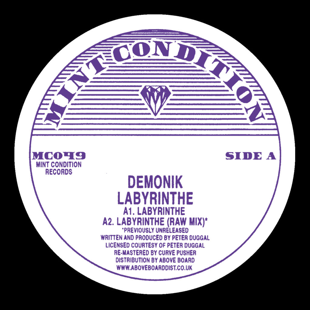 Demonik/LABYRINTHE 12""