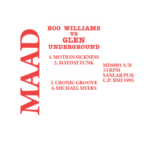 Boo Williams VS Glenn Underground/VS DLP