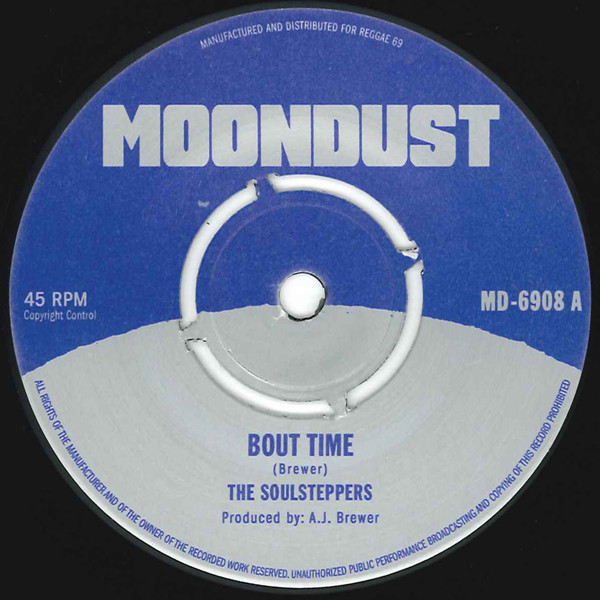 Soulsteppers/BOUT TIME & VICTORY 7""