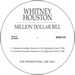 Whitney Houston/MILLION DOLLAR BILL 12""