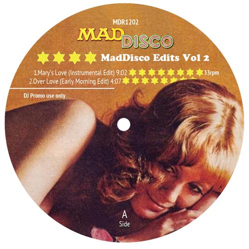 """Various/MAD DISCO EDITS VOL. 2 12"""""""