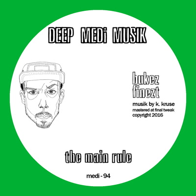 Bukez Finest/THE MAIN RULE 12""