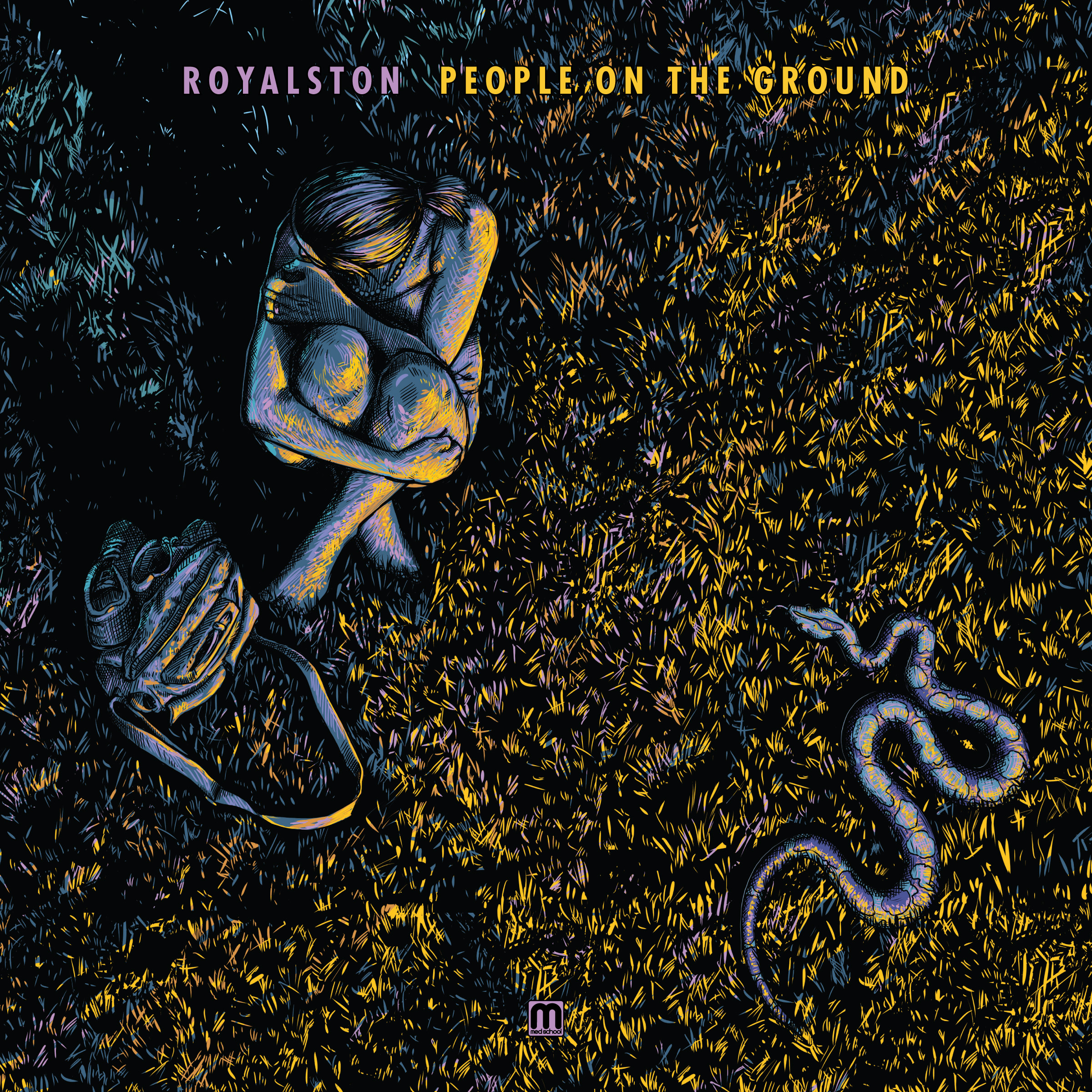 Royalston/PEOPLE ON THE GROUND LP + CD
