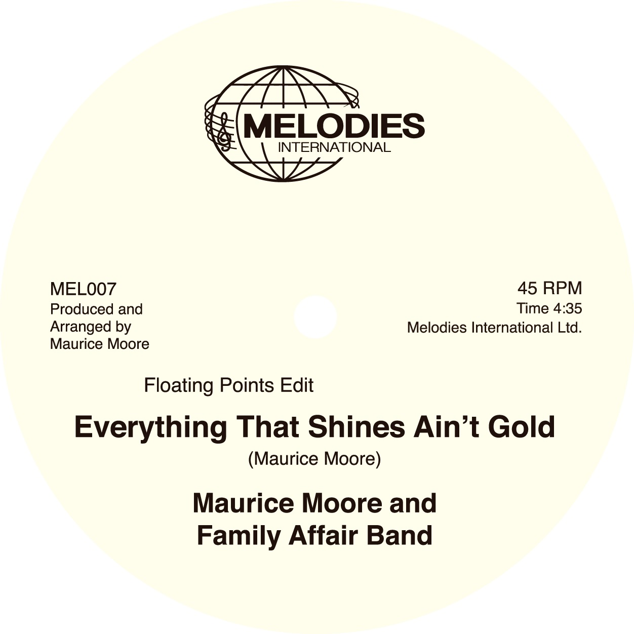 Maurice Moore/EVERYTHING THAT... 12""