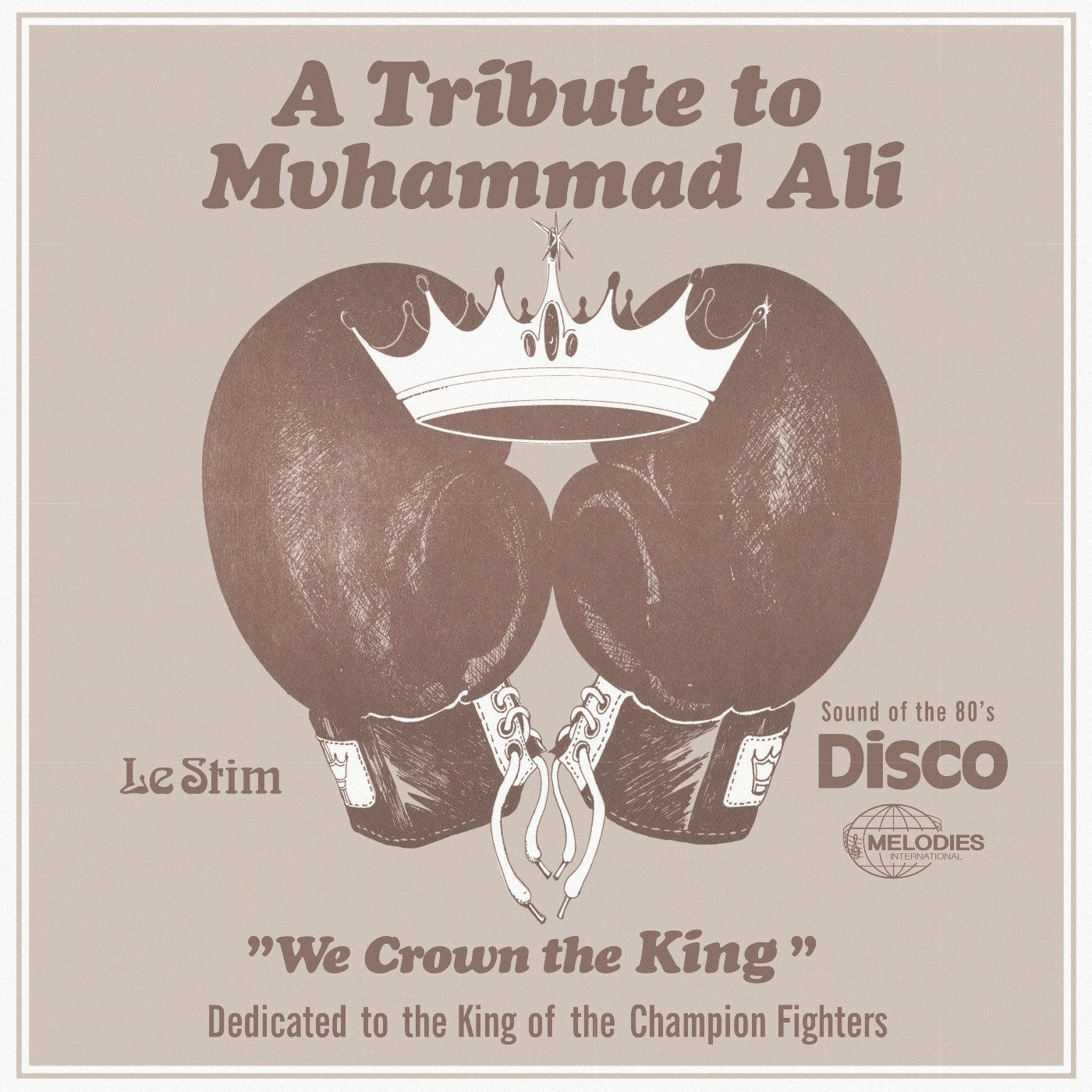 Le Stim/A TRIBUTE TO MUHAMMAD ALI 12""