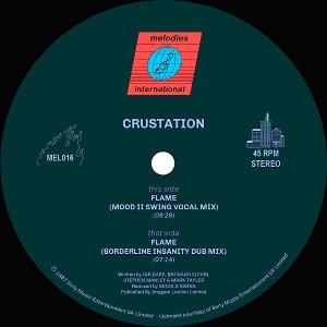 Crustation/FLAME (MOOD II SWING RMX) 12""