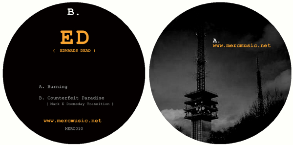 ED/BURNING & COUNTERFEIT PARADISE 12""