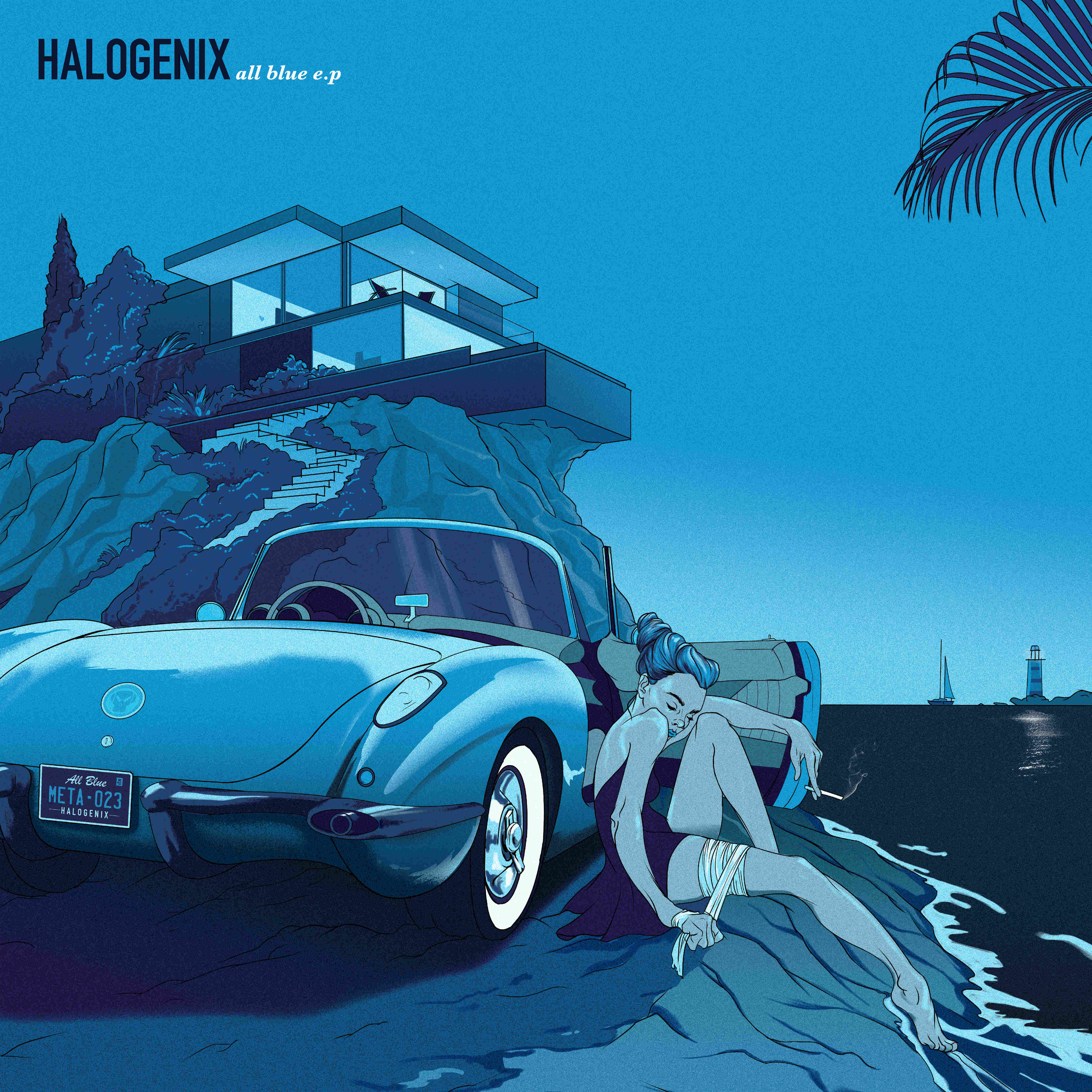 Halogenix/ALL BLUE EP 12""
