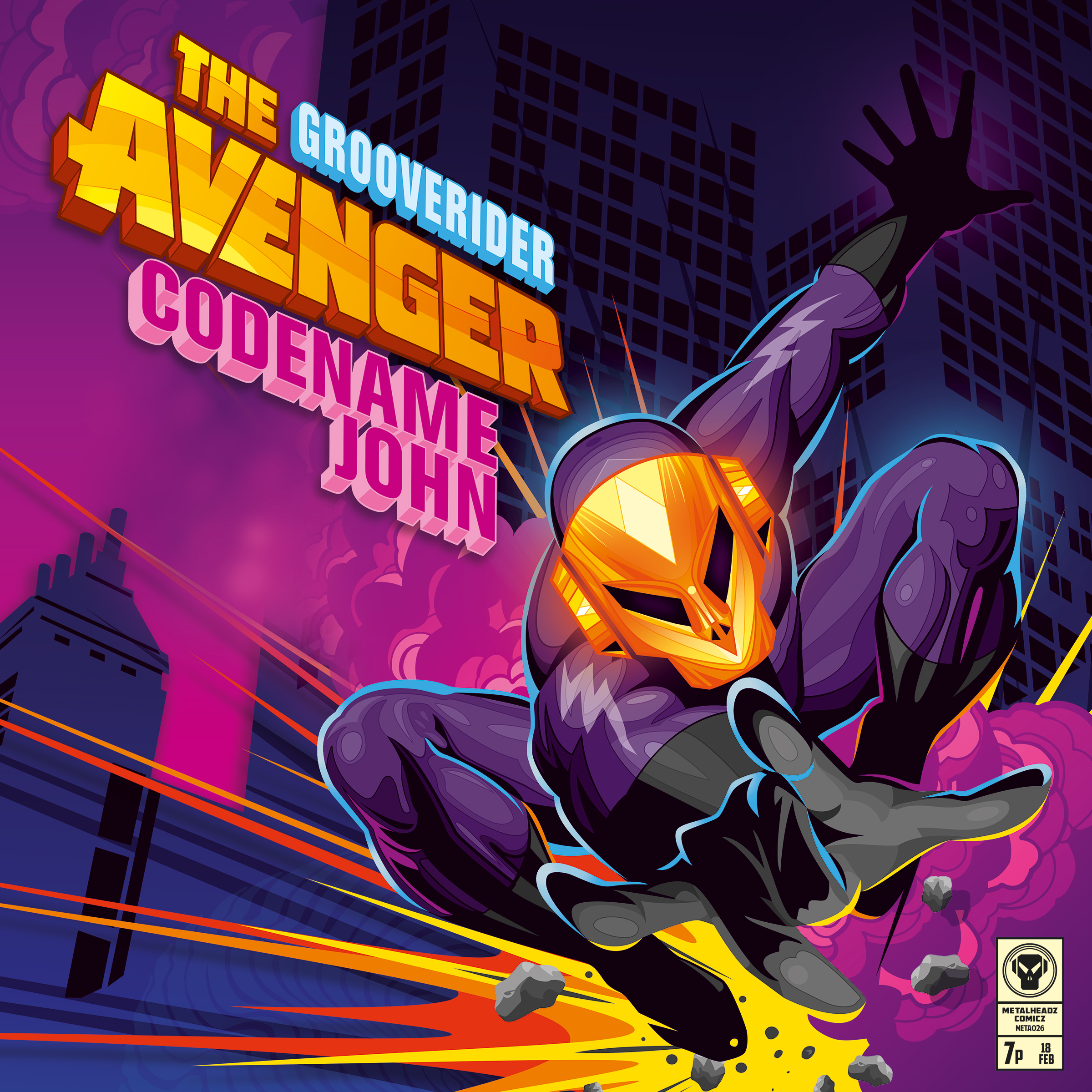 Grooverider/THE AVENGER 12""