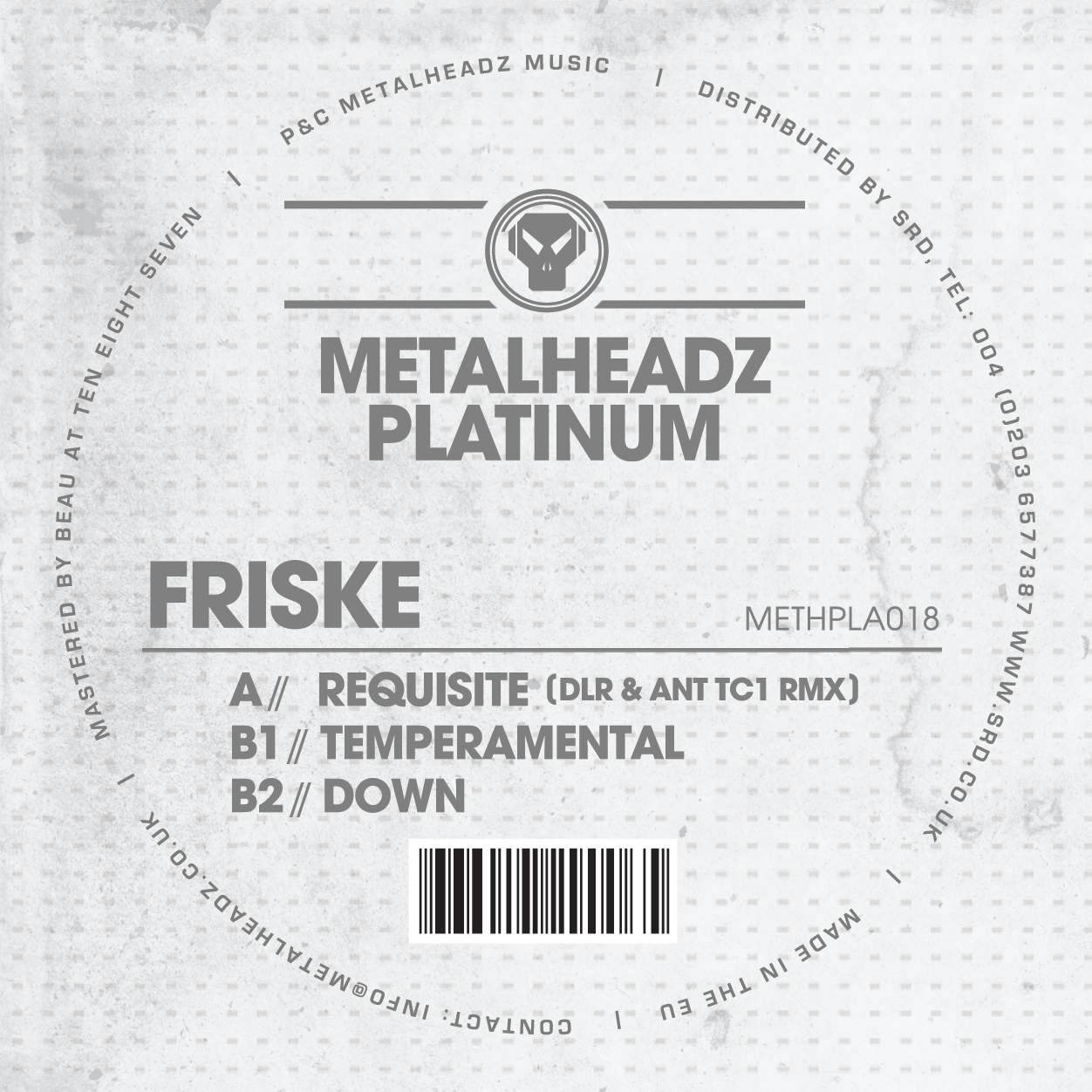 Friske/TEMPERAMENTAL EP 12""