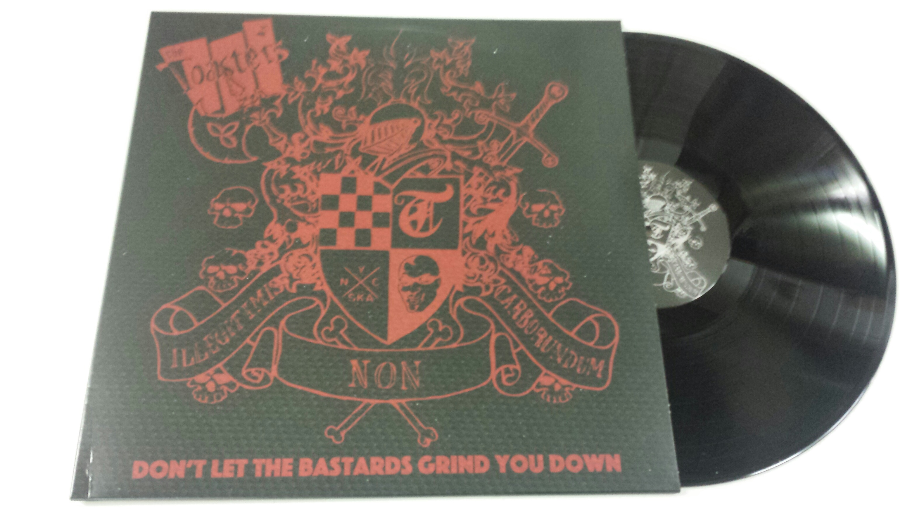 Toasters/DON'T LET THE BASTARDS GRIND LP