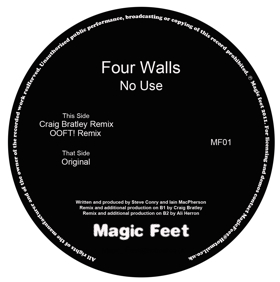 Four Walls/NO USE OOFT! REMIX 12""